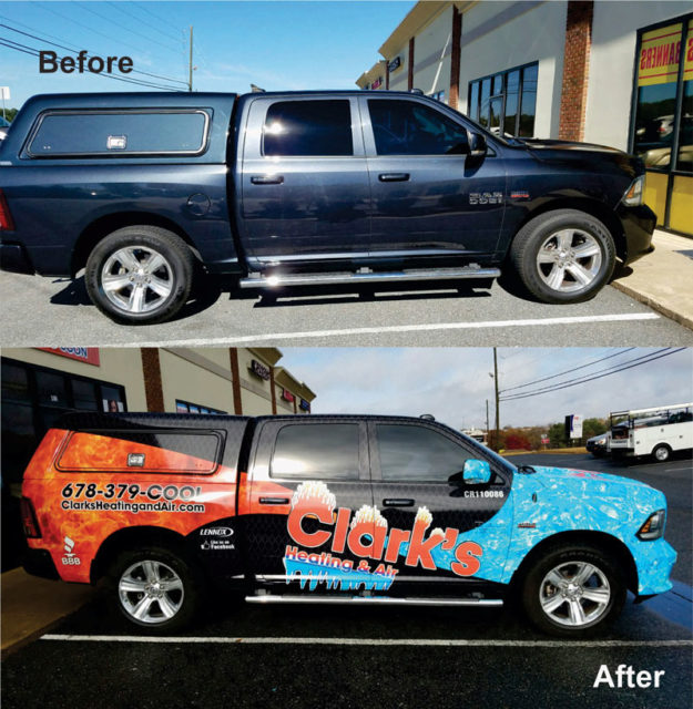Vehicle Wraps In Suwanee, Gwinnett County, GA